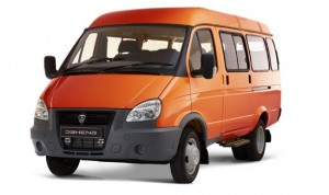 ГАЗ 3221 Бизнес микроавтобус