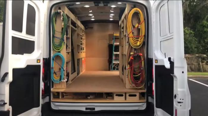 Грузовой фургон для малого бизнеса